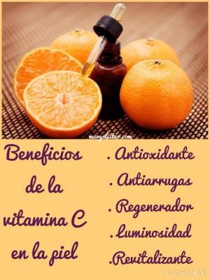 Beneficios-de-la-vitamina C- en-tu-piel-margalisteo.com