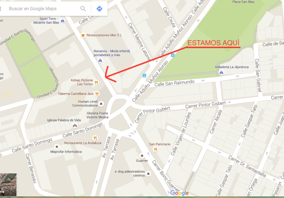 mapa MAGNO