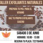 Taller de exfoliantes naturales-verano 2017