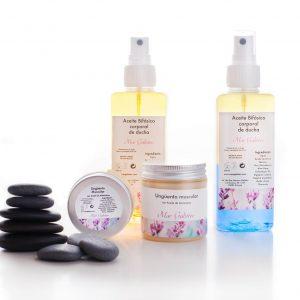 Cremas corporales cosmética natural